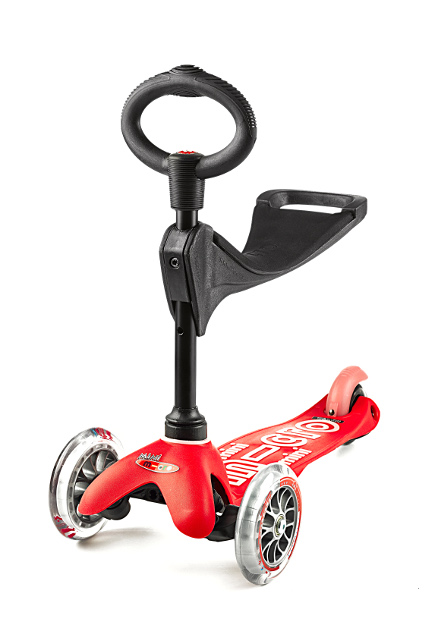Scooter Mini MICRO 3in1 DELUXE rot - MMD015 - Bild 3