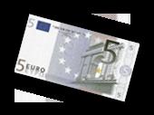 Yeah, fünf Euro einfach so für mich. Sofort. Zum. Einlösen.